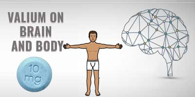 valium on brain and body
